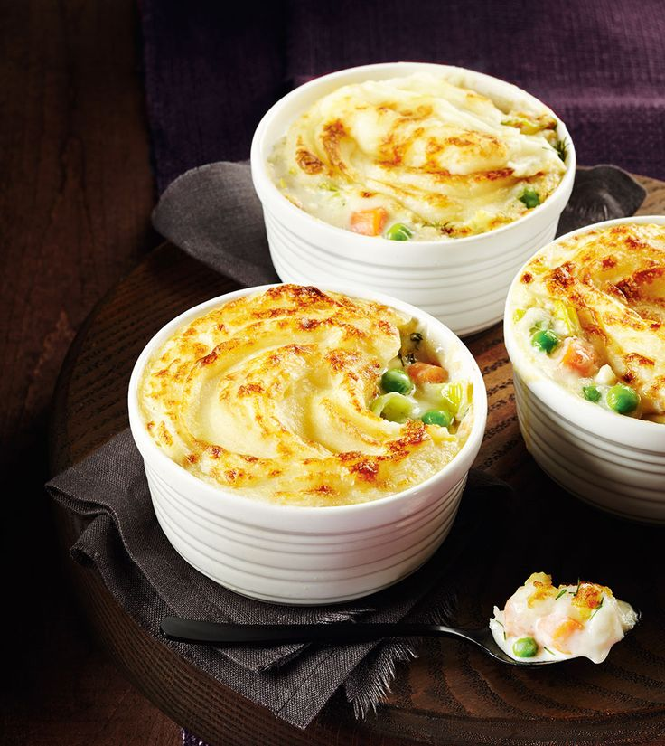 Mini Fish and Vegetable Pies
