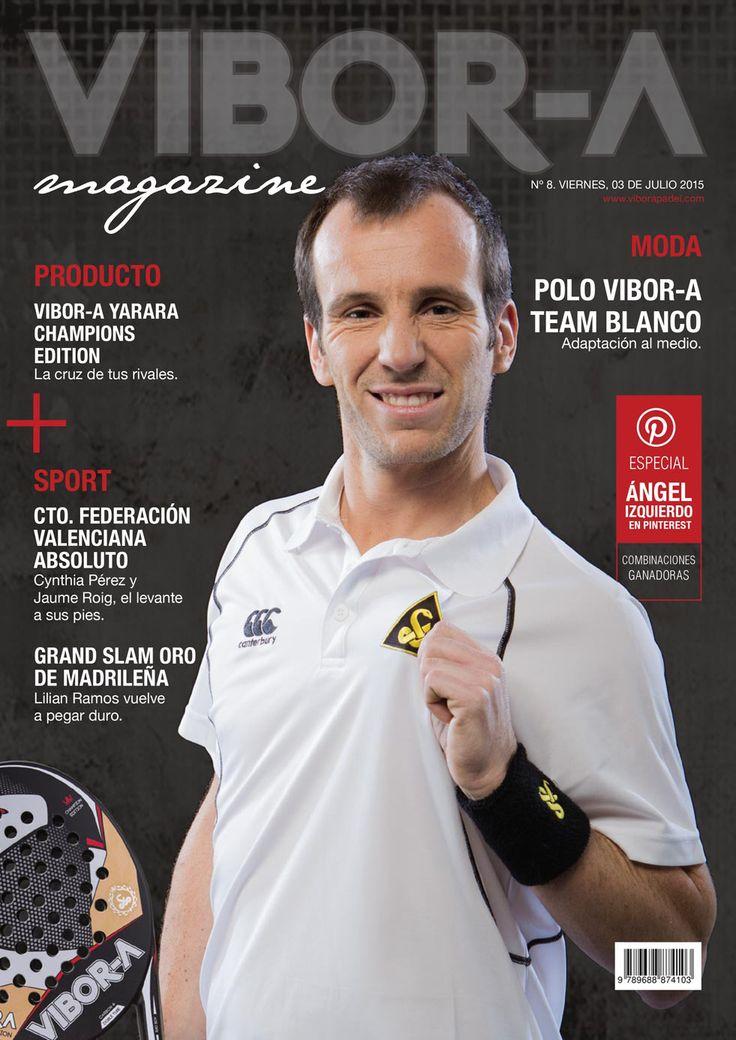 Ángel Izquierdo en portada.