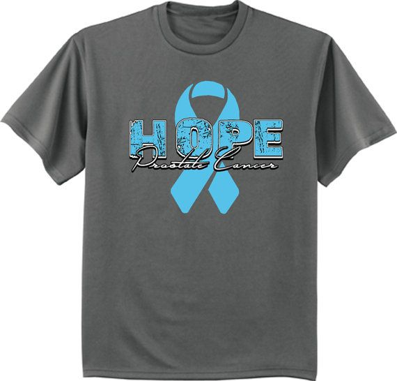 Men's T-shirt / Prostate Cancer Awareness Month Blue
