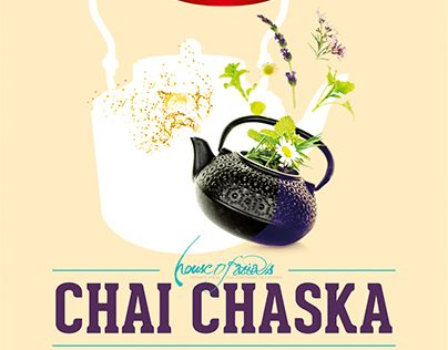 "Check out new work on my @Behance portfolio: ""Chai Chaska (Tea) Festival"" http://be.net/gallery/37972621/Chai-Chaska-(Tea)-Festival"
