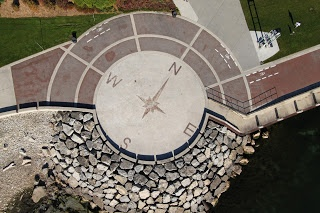 Discover Burlington Ontario!! MY FAV PLACE!! Stand in the center of the compass- Start Talking- You will hear a crazy echo off the water!! REALLY NEAT