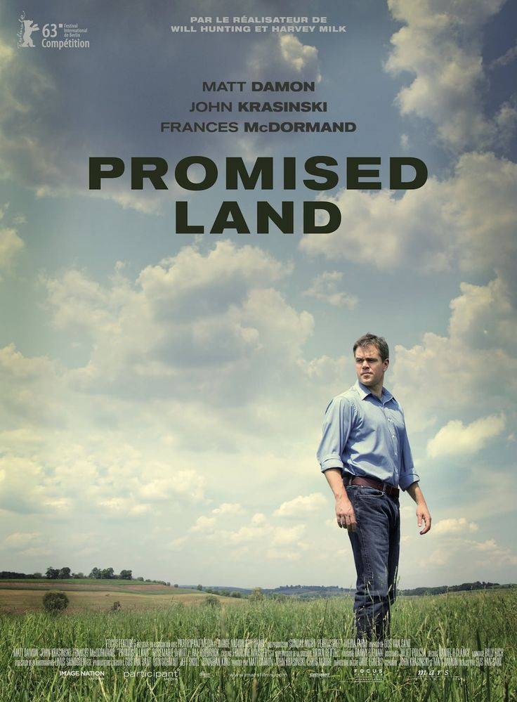 Promised Land (2013) #affiche #filmographie