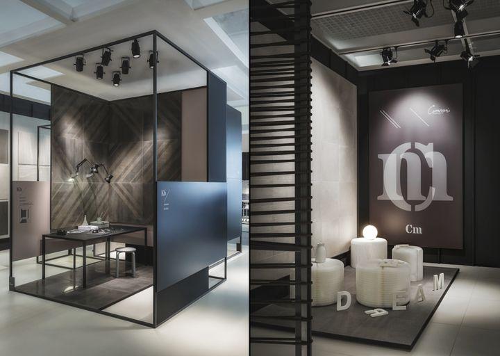 Simple kale pavillion at cersaie by paolo cesaretti bologna u italy retail design blog with - Interior designer bologna ...