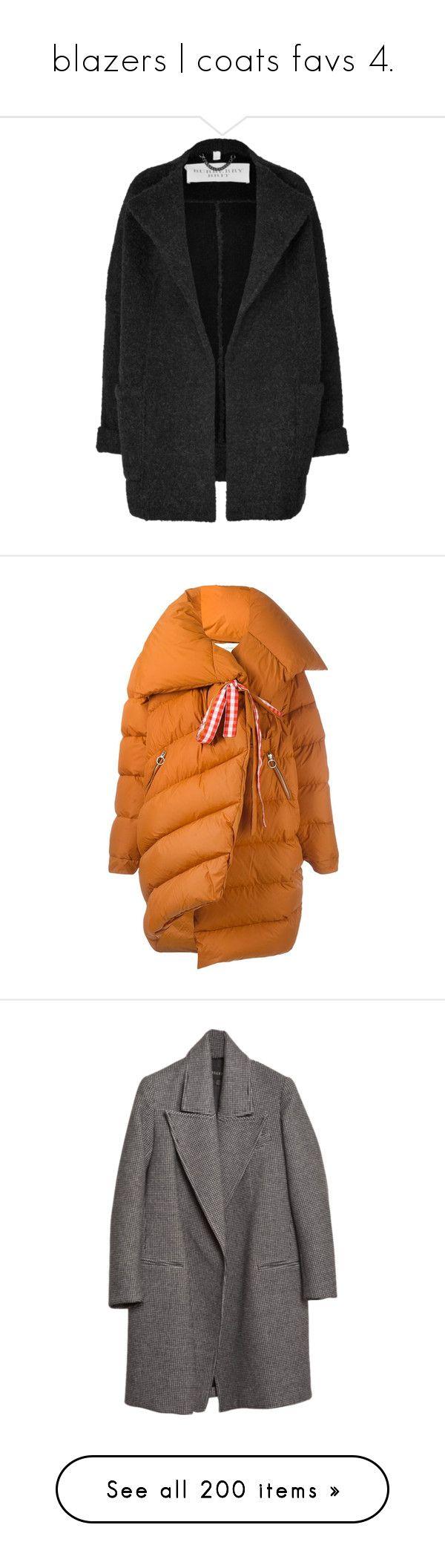 """blazers   coats favs 4."" by andressabrandao1 ❤ liked on Polyvore featuring outerwear, coats, jackets, coats & jackets, black, short coat, women, wool coats, short wool coat and alpaca coat"