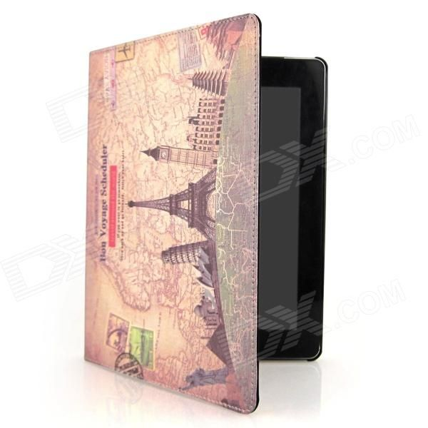 Brand: ENKAY; Model: ENK-3124; Quantity: 1 Piece; Color: Brown; Material: PU Leather; Compatible Models: Ipad 2/New Ipad/Ipad 4; Auto Wake-up / Sleep: YES; Other Features: Protect your device from scratches dust and shock; Packing List: 1  Protective Case; http://j.mp/1mc6ggS