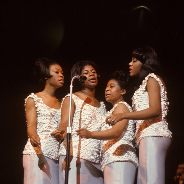 Rare Early Color Photo Of The Raelettes F L T R Alex