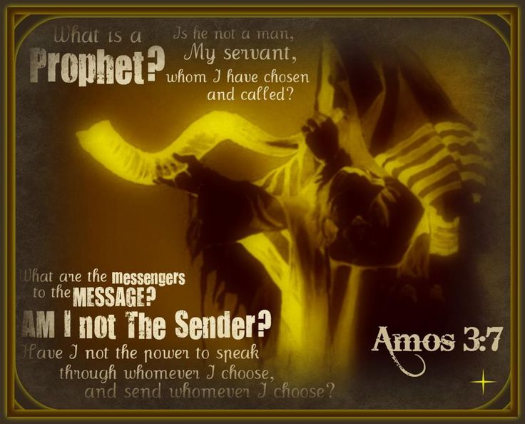 Amos 3:7 Indeed, the Sovereign Lord never does anything ...