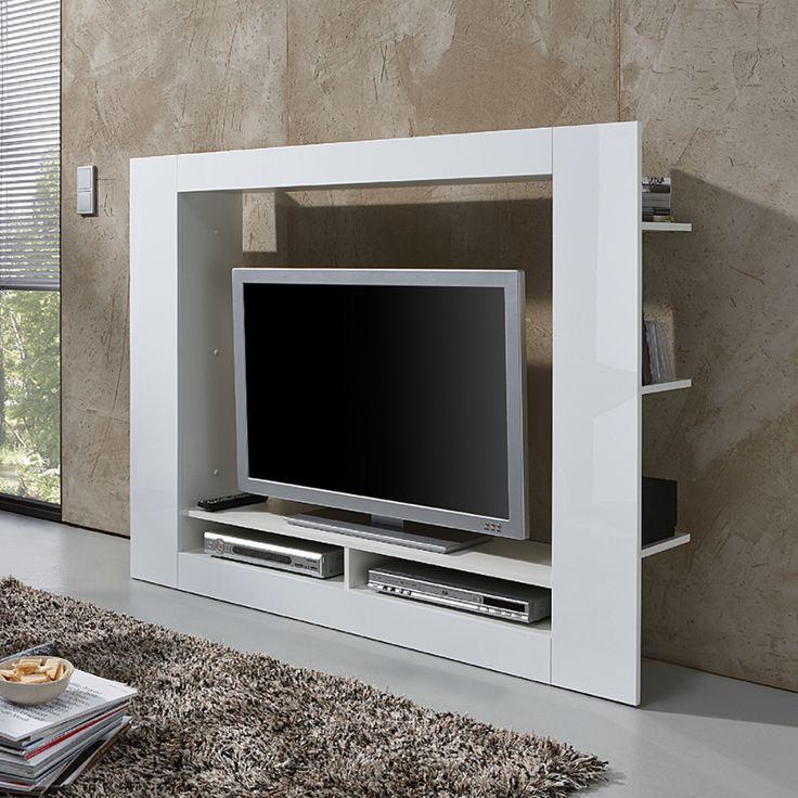 TV-Medienwand Cinema, 119€ hochglanz weiß oder schwarz