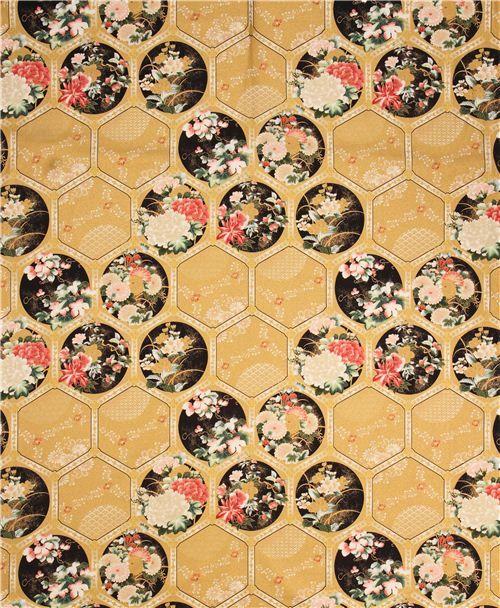 Robert Kaufman - Imperial Collection 11 SRKM-15294-200 VINTAGE panel