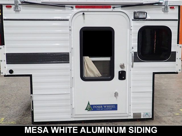 Mesa White Standard Aluminum Siding Pop Up Truck Campers Truck Camper Camper
