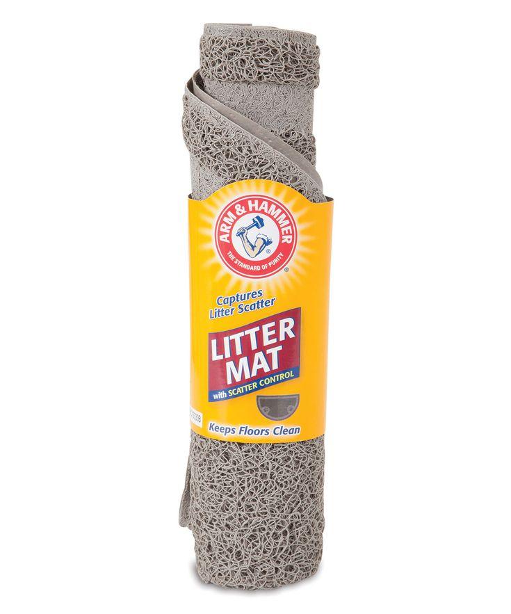 Arm & Hammer Half-Circle Cat Litter Mat