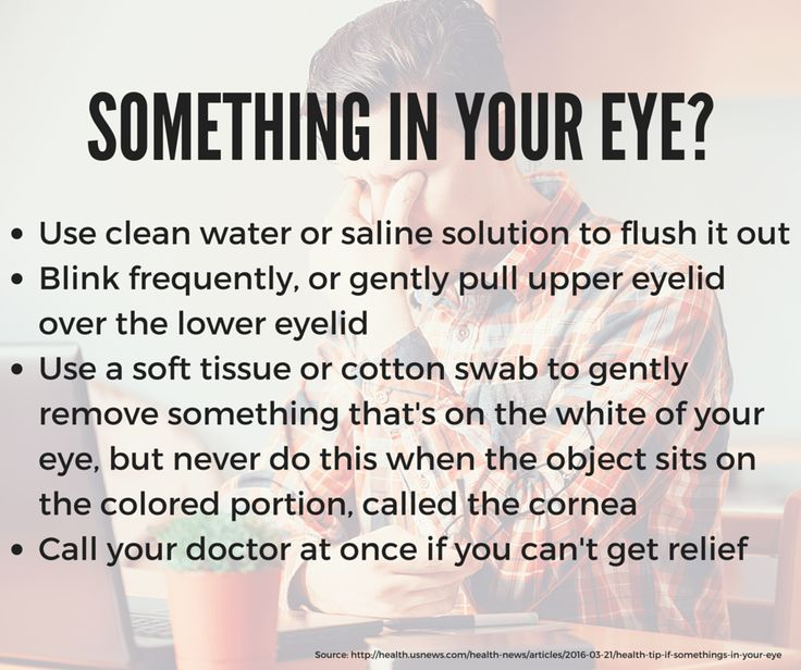 Most of the time when you get something in your eye you can carefully remove it. In some cases, an object in your eye can scratch your cornea. Stay safe with these tips. http://eyesonbrickell.com  #Eye #Care #Tips #EyeDoctor #Miami
