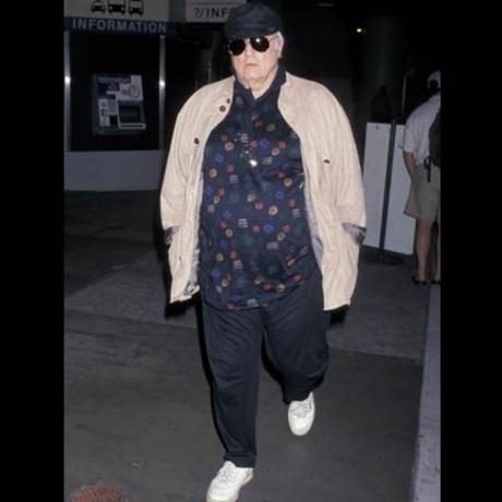 Marlon Brando -- an actor named disaster.