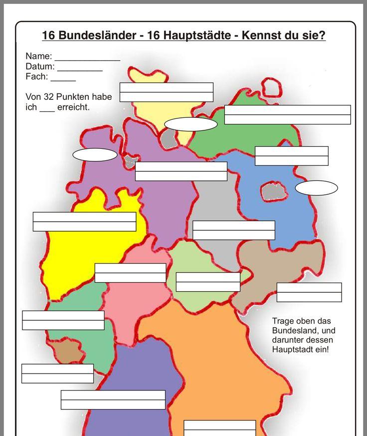 Hauptstädte Deutschlands