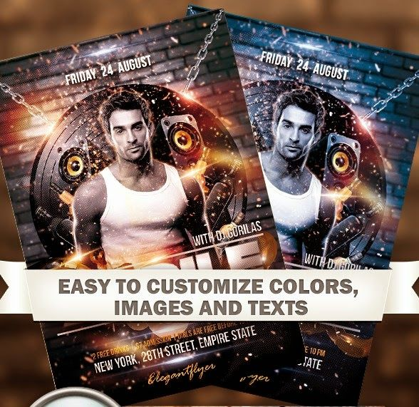 Special Guest – Free Flyer PSD Template ~ Freebies PSD