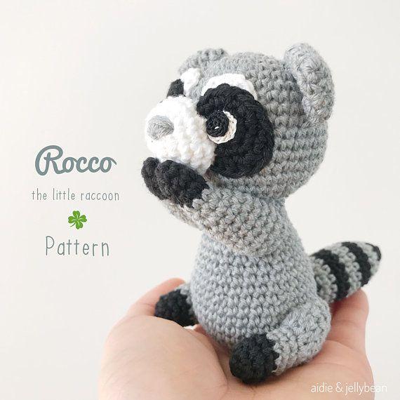 Ravelry: The Silent Raccoon pattern by Eserehtanin (Nina) | 570x570