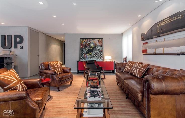 Apartamento tríplex em Belo Horizonte é assinado por Ângela Roldão - Casa