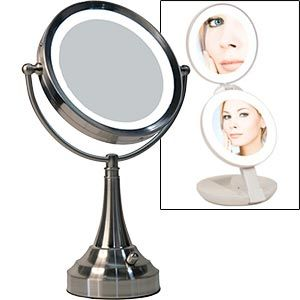 Kathleen Lights Vanity Mirror : lighted makeup mirror from Costco USD 20 dressing room for real Pint?