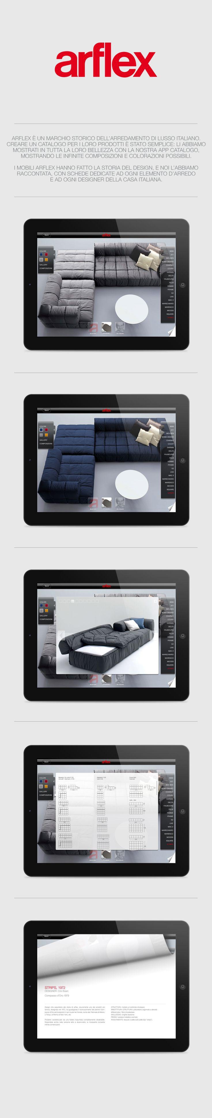 #arflex app mobile #Dandelio