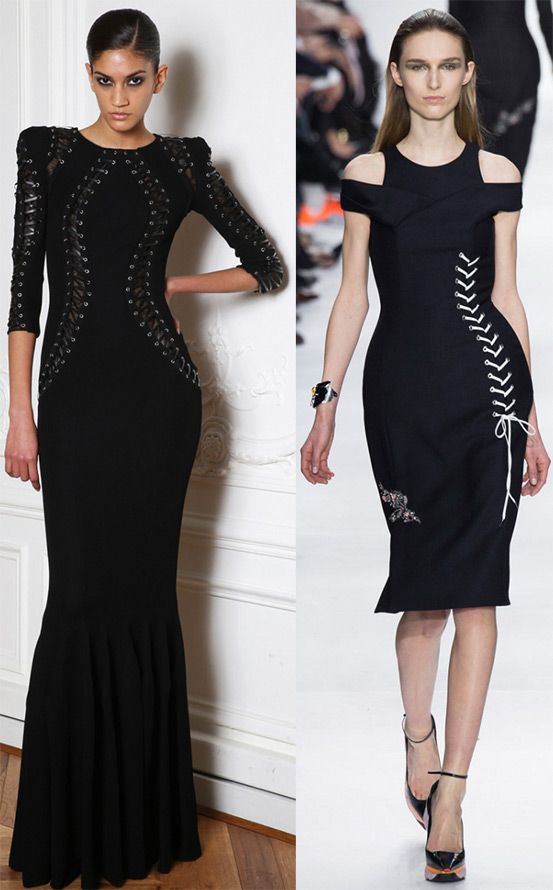 Черные вечерние платья 2014-2015