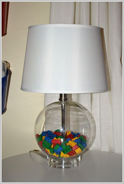 Might be time to hit the thrift store... I think my 16yo may need a Lego lamp in his reading corner.