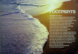 Footprints | Motivational | Hardboards | Wall Decor | Plaquemount | Blockmount | Art | Inspirational | Pictures Frames and More | Winnipeg | MB | Canada