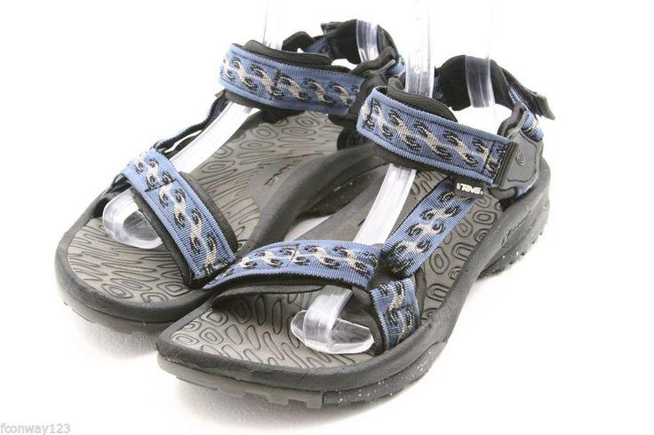 TEVA mens sandals Size 10 TERRA FI waterproof river water sport shoes EU 9 #Teva #SportSandals @ebay #style #Sandals #fashion #beach