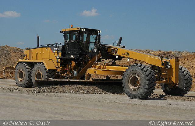 CAT graders   ... Surface Mine)-Caterpillar 24M Road Grader   Flickr - Photo Sharing