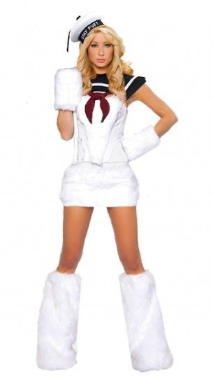 stay puff marshmallow costume not the one in the picture go to the website