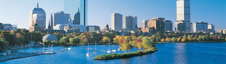 Skyline de Boston, una de las ciudades más importantes de los EEUU.