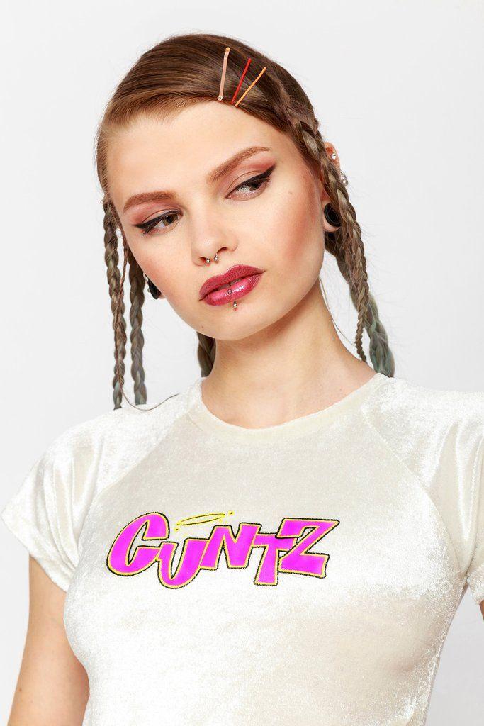 CUNTZ VELVET TEE || SHOP HERE:https://www.goodbyebread.com/collections/new/products/cuntz-velvet-tee #goodbyebread #sweet #lord #omighty #cuntz #velvet #tee #pink #camo #cargo #pants #fucking #savage #belt #90's #bish