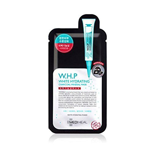 Mediheal Cosmetic WHP White Hydrating Charcoal Mineral Mask 085Oz25Ml x 10ea * Find out more about the great product at the image link. (Note:Amazon affiliate link)