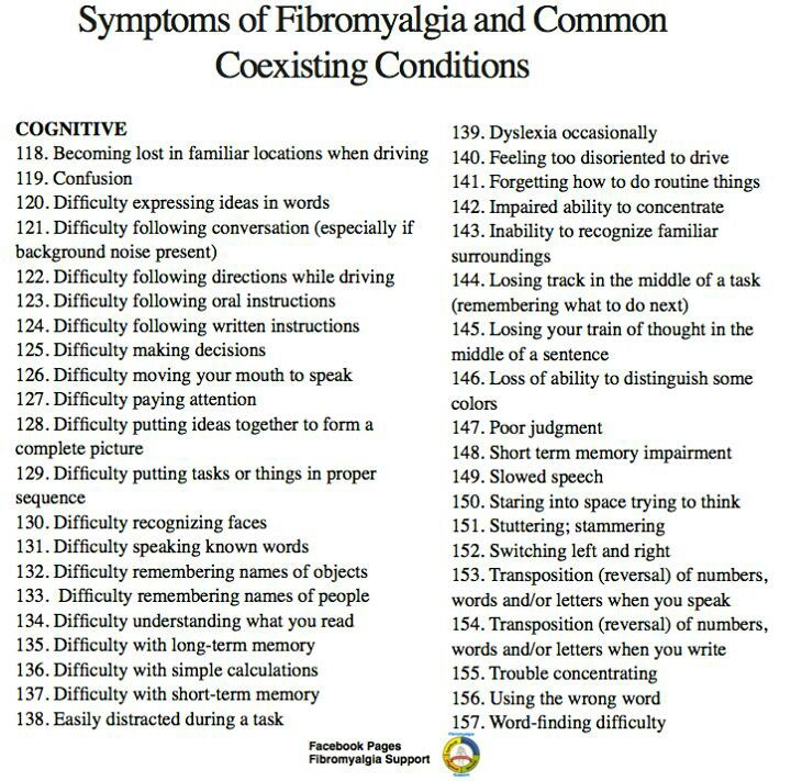 Comorbidity with fibro 118-157 The Struggle is REAL!