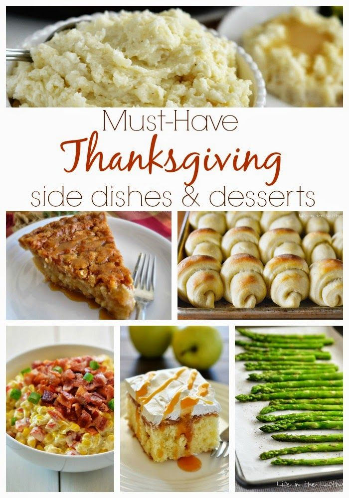 The Country Cook: Thanksgiving Side Dishes & Desserts