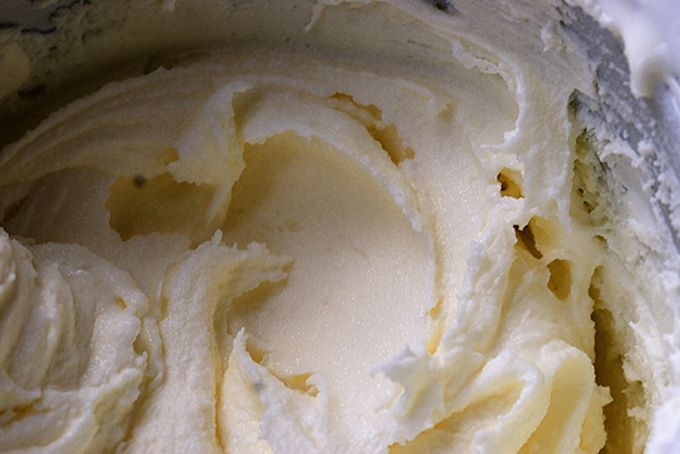 Frozen Greek Yogurt Recipe from 101 Cookbooks. Edited to add my variation: