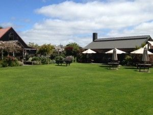 St Margaret's Cafe, Karaka has the most magnificent country gardens, an ornamental pond with fountain and acres of grounds. A real hidden gem