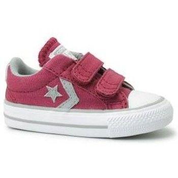 Sapatos Criança Sapatilhas Converse Star Player Youth 2v Vermelho Vermelho