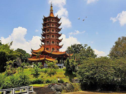 Watugong Pagoda, Semarang, Indonesia