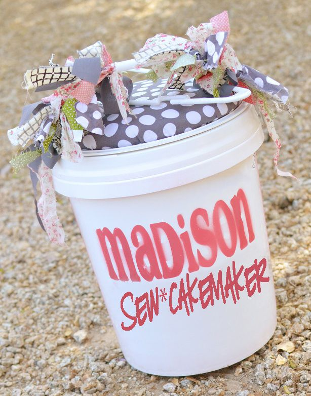 The Sew*er, The Caker, The CopyCat Maker: Cushioned Bucket Seat