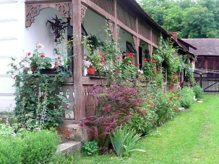 Tornácos ház Jósvafőn