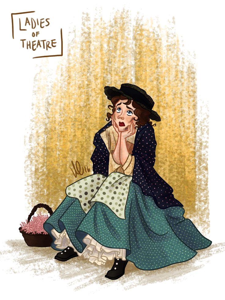 """""""Oh wouldn't it be loverly?""""Day 22: Eliza Doolittle from My Fair Lady  By Kendyll Romine"""