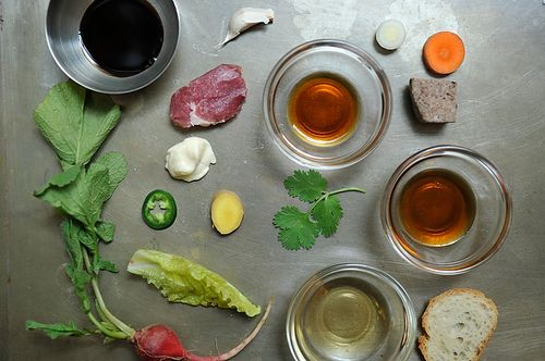 our friends at food 52 inspire us to cook!: Mì Recipes, Asian Cuisine, Crunchi Pickled, Bread, Caramel Pork, Seared Pork, Food 52, Pork Bánh, Food Drinks