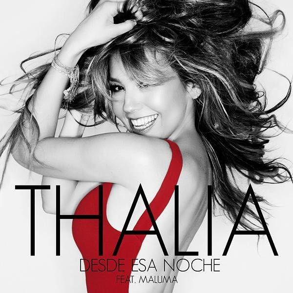"Soooo excited!!! ¡""Desde Esa Noche"" feat. @Maluma disponible mañana! Get the new song tomorrow!!!  #DesdeEsaNoche #ThaliaNuevaMusica"