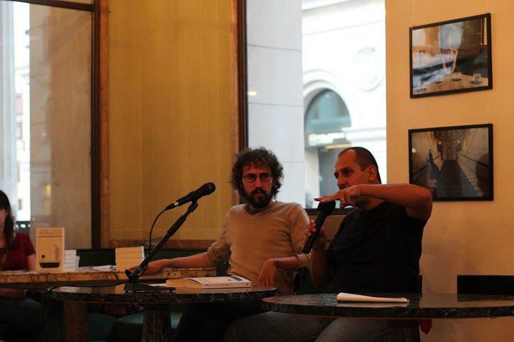 Francesco Targhetta e Alessandro Garigliano a Padova