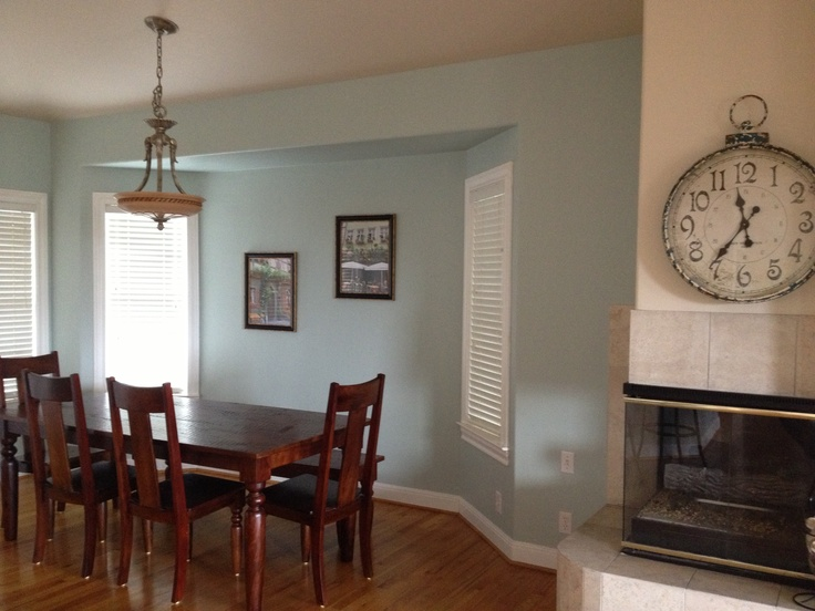 My new favorite paint color. I just painted my kitchen. It ...