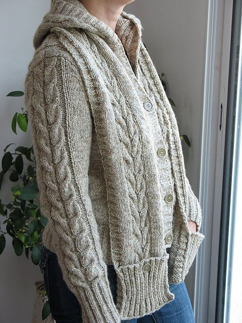 Knitting Pattern Central Park Hoodie : 17 Best images about Aran knitting on Pinterest Free ...