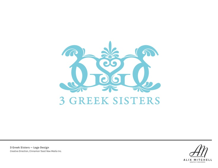 Three Greek Sisters Logo (Designed while at CTNM)
