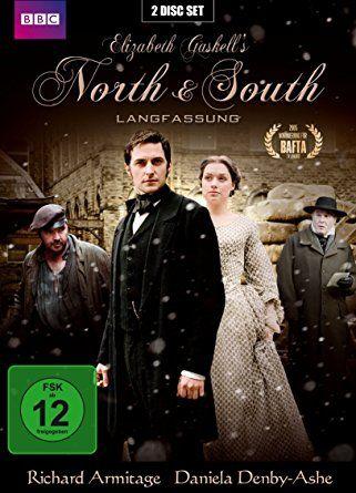 North & South (Langfassung) [2 DVDs]: Während der industriellen Revolution um 1850 trifft ein Mädchen aus gutem Haus einen Fabrikbesitzer (Richard Armitage). Ein interessanter Einblick in Gesellschaft, Arbeitgebertum und das Aufkommen von Gewerkschaften. Und Armitage passt wie üblich perfekt. BBC-Miniserie.