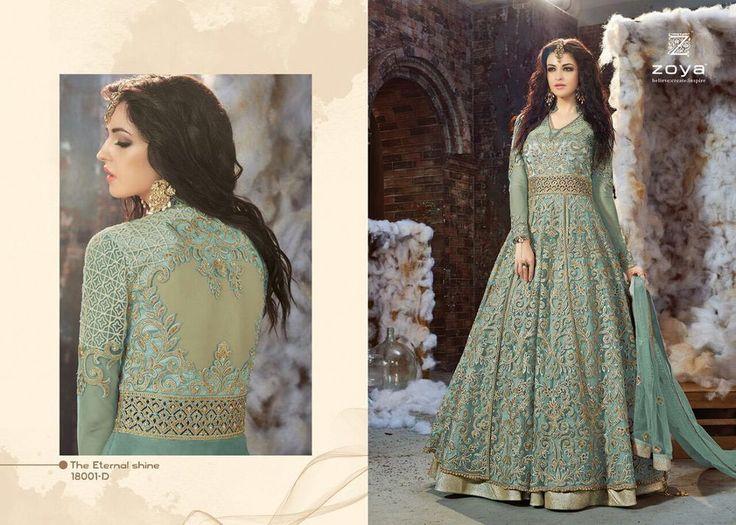 Ethnic Anarkali Salwar Kameez Indian Pakistani  Designer Suit Bollywood Dress #NewIndianEthnicHouse #SalwarKameez