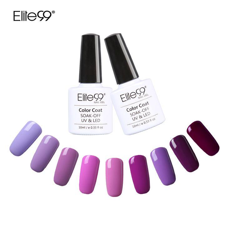 Elite99 UV Nail Polish Bling Shiny Surface UV Gel Nail Polish Nails Art Salon LED Soak Off Long Lasting Gel Nail Art UV Polish //Price: $5.49 & FREE Shipping //     #womanworld